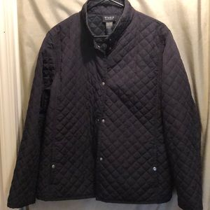 "Liz Claiborne ""studio"" quilted jacket"
